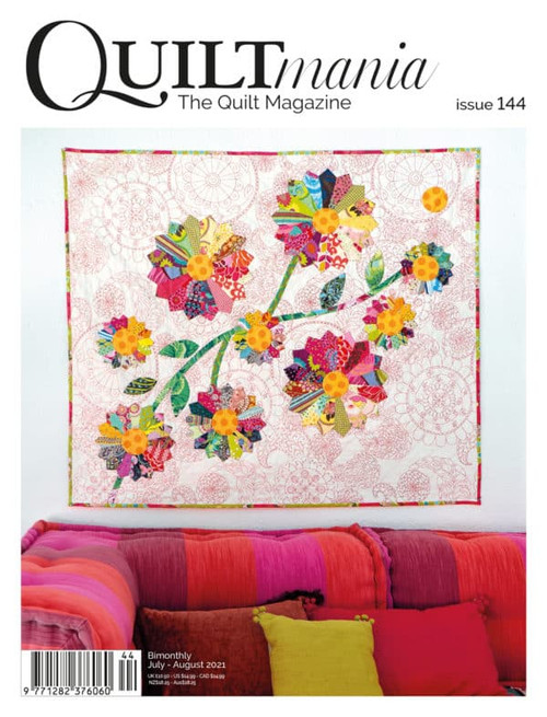 QuiltMANIA #144 July/Aug 2021