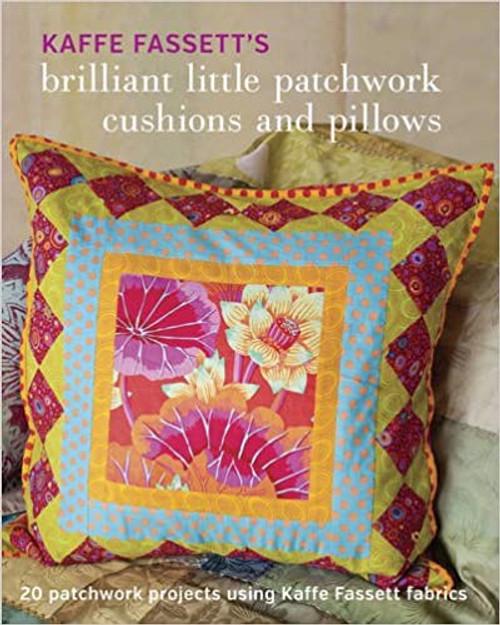 Kaffe Fassett's Brilliant Little Patchwork Cushions and Pillows