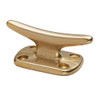 """Whitecap Fender Cleat - Polished Brass - 2"""""""