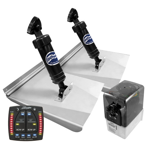 """fit Many Boats with the Bennett Rams One SS Trim Tabs 30/""""X9/"""""""