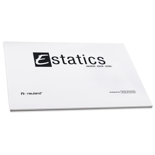 Estatics Pad A5 Electrostatic Adhesive Pads - White