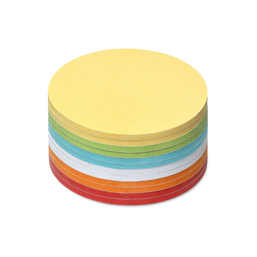 Stick-It Cards, circular, 300 sheets, assorted