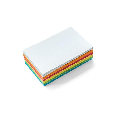 Stick-It Cards, mini rectangular, 150 sheets, assorted