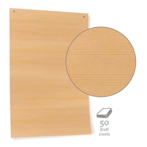 Pinboard Paper, brown - 50 sheets