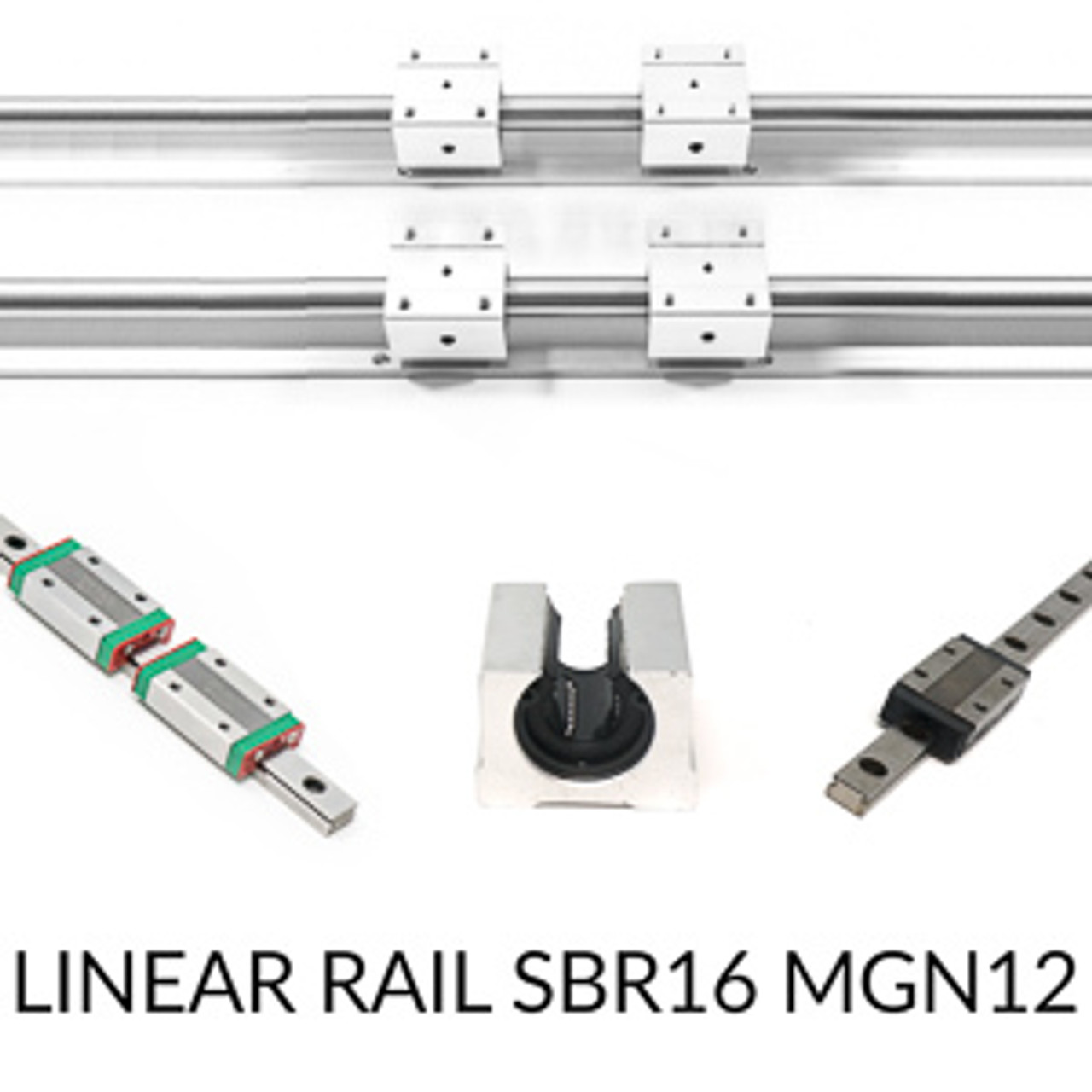 Linear rail SBR16 MGN12