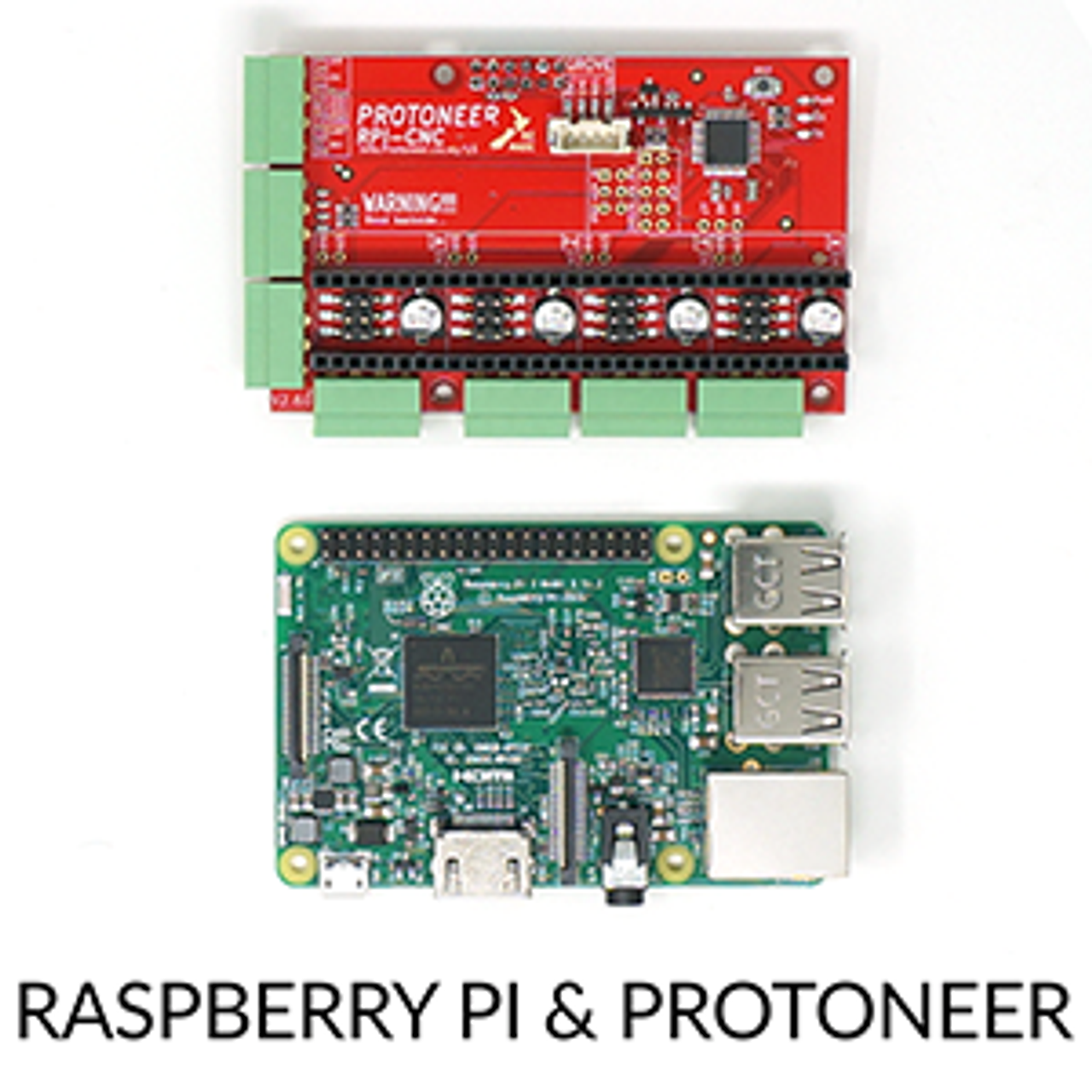 Official Protoneer & Raspberry Pi