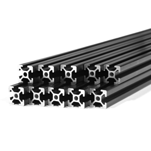 Befenybay 20PCS Extruded Aluminum Profile 2028 Corner Bracket Right Angle for 6mm Slot Aluminum Extrusion Profile 2020 Series 2028-Black-20