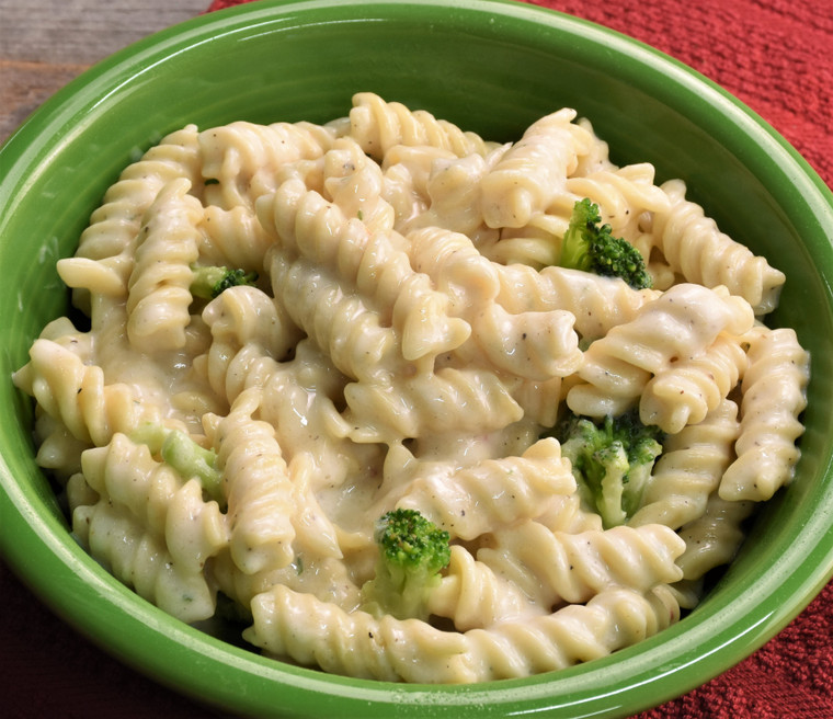 Allegheny Alfredo Noodles prepared
