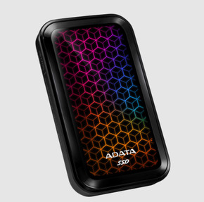 ADATA SE770G Series: 512GB RGB External SSD USB 3.2 Gen 2 Gaming Console Compatible