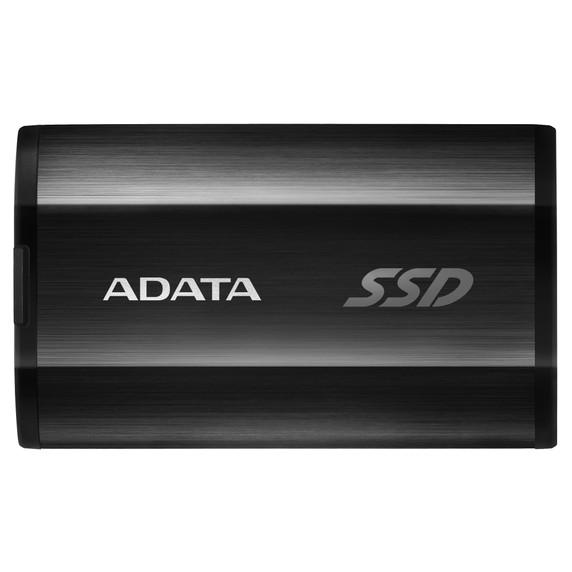 ADATA Premium SE800 Series - 512GB USB 3.2 Gen2 USB-C IP68 Waterproof External SSD - Black