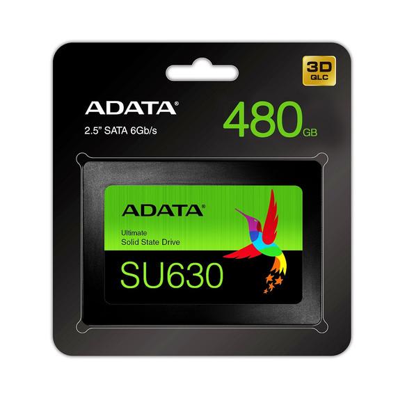"ADATA Ultimate Series: SU630 480GB SATA III Internal 2.5"" Solid State Drive"