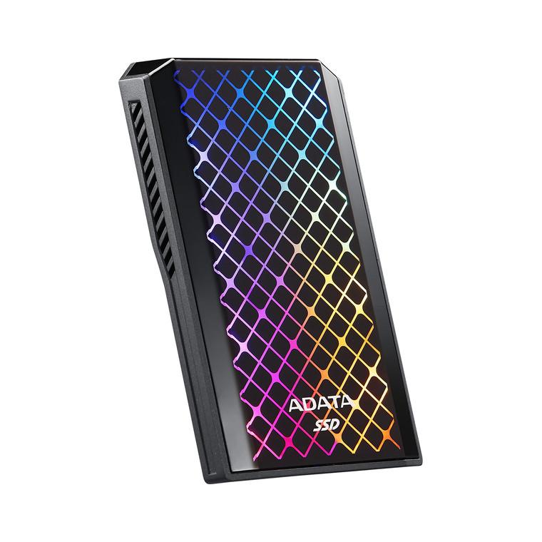 ADATA SE900G 512GB USB-C 3.2 Gen2 External RGB SSD