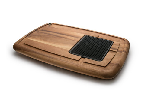 Memphis Cutting Board with Insert