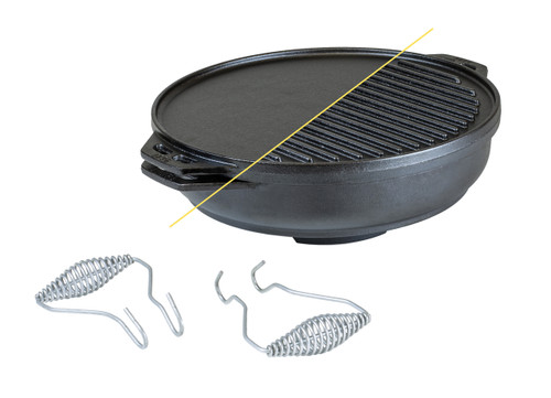 Cast Iron 14 Inch Cook-It-All