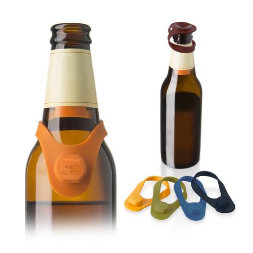 Bottle Marker & Stopper Silicone (Set of 6)