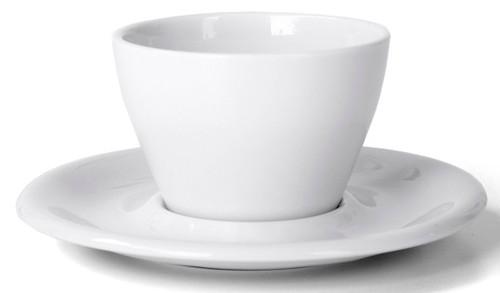 Meno Cappuccino Single 5 oz Cup & Saucer