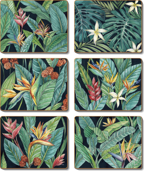 Tropical Midnight Placemats