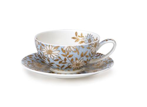 Tea for One Cup & Saucer Aqua