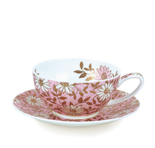 Tea for One Cup & Saucer Nuovo Pink