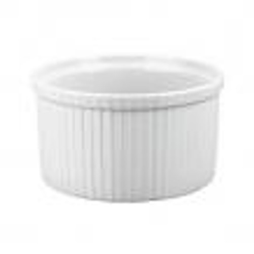 Pleated Deep Souffle Dish Extra (1800ml/ 18.5cm)