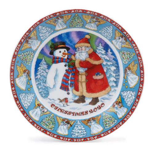 Plate Christmas 2020