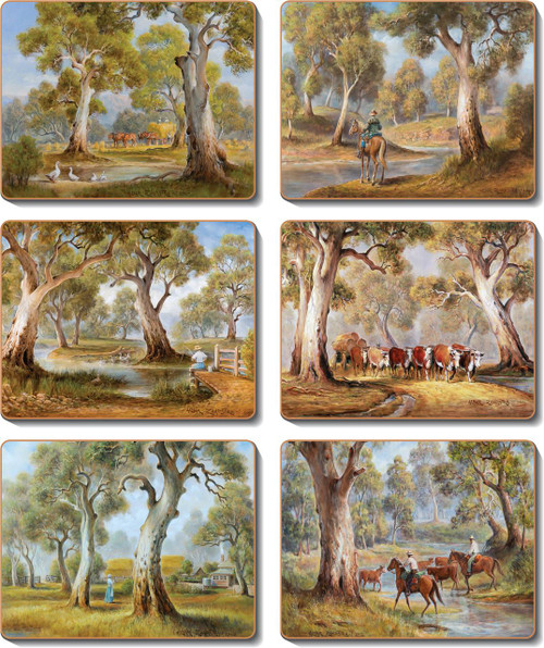 Redgum Country Placemats