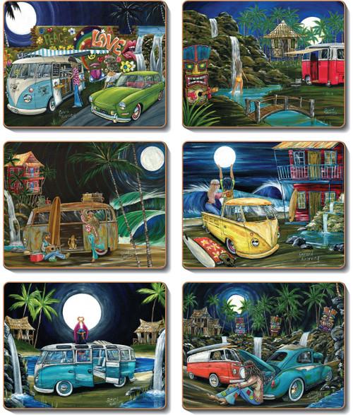 Luna Lovers Coasters
