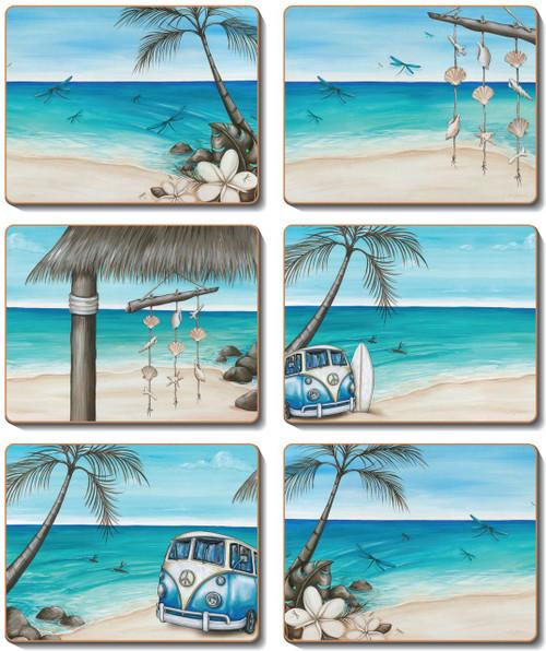 Paddle Bliss Coasters