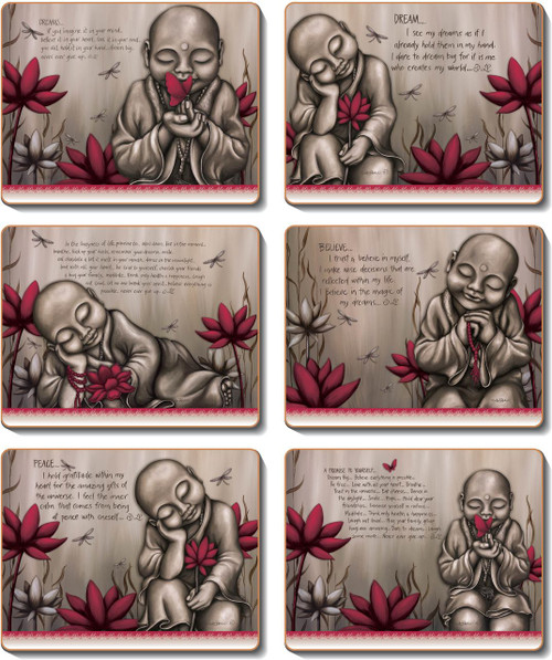 From The Soul Monk Red Placemats