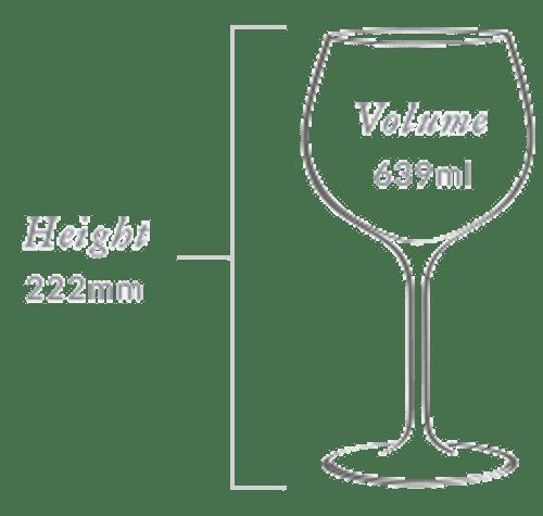 Plumm Handmade Vintage Crystal WHITEb Wine Glass (Twin Pack)