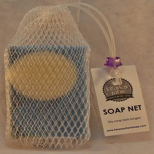 Soap Net with 4.5 ounce bar of soap