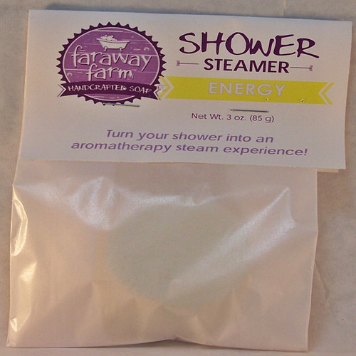 Energy Shower Steamer wrapped