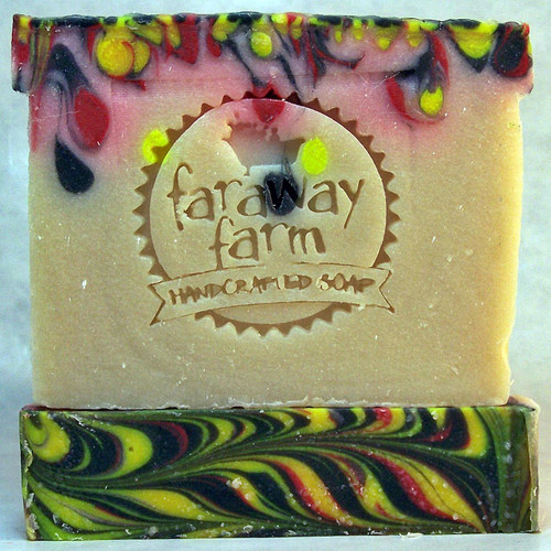 Set Your Life on Fire Lotsa Lather Soap