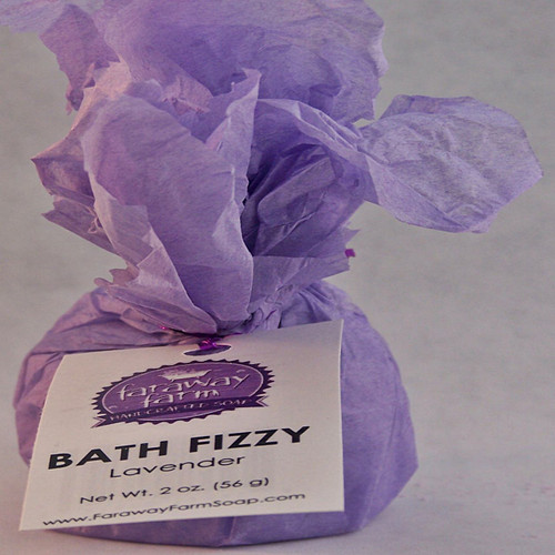 Lavender Bath Fizzy wrapped