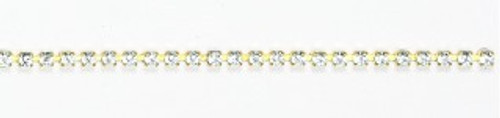 FC24/68B-A-MO:CHAIN 24PP-68B/ALT  CRYSTAL/MONTANA (3.20mm) chain: purchase by the foot.