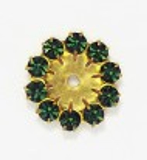 4.10mm Hyacinth multiple stone round: Purchase by the piece.