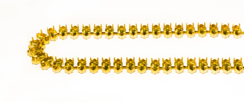 FC105N/54: 10mm x 5mm Navette unset cup chain, 48 boxes per foot.