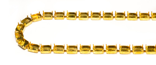 FC108/27: 10mm x 8mm Octagon unset chain, 27 boxes per foot.