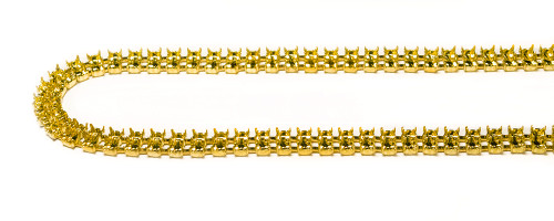 FC24/68-2: 24PP (3.20mm) double strand, unset cup chain. 68 boxes per foot.