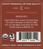 Crown Maple® Cinnamon Infused Organic Maple Syrup Single Petite 50ML (1.7 FL OZ)