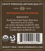 Crown Maple® Bourbon Barrel Aged Organic Maple Syrup 12-Pack Petite 50ML (1.7 FL OZ)