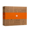 Make an exceptional impression with the Crown Maple Royal Treatment box with our signature ORANGE band.