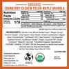 Crown Maple® Cranberry Cashew Pecan Maple Granola 20 OZ (566G)