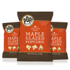 This craft recipe brings the award-winning flavor of Crown Maple together with Pop! Gourmet's delicious popcorn. Each kernel is covered with Crown Maple sugar and glazed with Crown Maple syrup.  Maple Glazed Popcorn is the perfect snack that is both natural and delicious. The sugars pair well with an active lifestyle and its perfect sweetness will keep you coming back for more-guilt free!     Gluten Free.  Simple & Sweet.  Delicious Maple Snack.  Plant-Based.