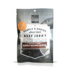 SMALL-BATCH LIMITED AVAILABILITY WHILE SUPPLIES LAST  For this SEASONAL product offering, we partnered with People's Choice, a small-batch artisan jerky maker and the highest rated beef jerky in the market. They have been handcrafting beef jerky for more than 90 years and four generations.  Crafted in the People's Choice test kitchen, the Maple Brown Sugar Beef Jerky features extra thick cuts of 100% USA Angus Certified Beef seasoned with a holiday-inspired blend of sweet and savory jerky ingredients then slow cooked for a minimum of five hours. This artisan recipe features Crown Maple Very Dark Color Strong Taste organic maple syrup. The sweetness is balanced with the savory spices which enhances the rich meat flavor for a thick jerky with a great chew. The sweetness is balanced with the savory spices which enhances the rich meat flavor for a thick jerky with a great chew.      REAL GOURMET FLAVOR - A Holiday Beef Jerky like no other featuring premium Crown Maple organic maple syrup  GUILT FREE SNACKING - No Nitrites / Nitrates, No MSG, No Preservatives, No Artificial Ingredients  PROUDLY MADE IN THE USA - Exclusively 100% Premium USA Beef, Premium Jerky Made in Small Batches  PACKED WITH PROTEIN - 9g of Protein Per 1 oz. Serving  AUTHENTIC STYLE CRAFT JERKY - Whole Pieces, Not Soft, Chewy Steak-Like Texture     Ingredients: Beef, Crown Maple® Very Dark Color Strong Taste Organic Maple Syrup, Brown Sugar, Bourbon, Water, Seasoning (Sea Salt, Spices, Garlic), Molasses, Vanilla Extract (Vanilla Bean Extractives in Water and Alcohol), Cinnamon.    Learn more at www.peopleschoicebeefjerky.com