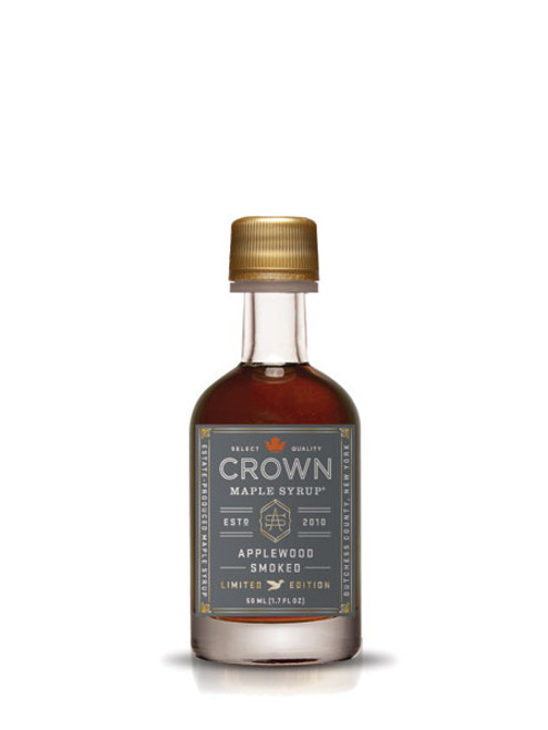 Crown Maple® Applewood Smoked Organic Maple Syrup Single Petite 50ML (1.7 FL OZ)