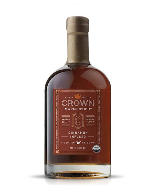 The sweet and spicy floral notes of cinnamon accentuate the brown butter and toasted pecan notes of our Dark Color maple syrup to create a warm and intriguing flavor in Crown Maple Cinnamon Infused organic maple syrup, which presents a medium-body that accentuates and elevates your favorite foods.