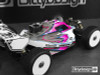 Bittydesign VISION Clear Pre-Cut Body for Mugen MBX8 Nitro
