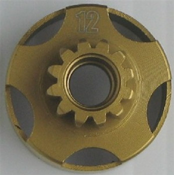 12 Tooth 1/8 TiNitride Clutch Bell