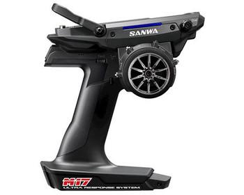 Sanwa M17 FH5 4-Channel 2.4GHz Radio System w/RX-491 Receiver